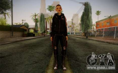 Jack Hood from Mass Effect 3 for GTA San Andreas