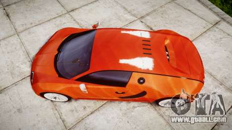 Bugatti Veyron 16.4 SS [EPM] Halloween Special for GTA 4 right view