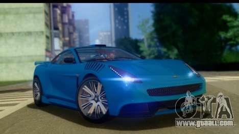 GTA 5 Dewbauchee Massacro for GTA San Andreas