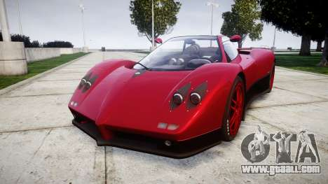 Pagani Zonda C12 S 7.3 2002 PJ2 for GTA 4