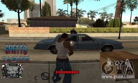 C-HUD Ghetto Tawer for GTA San Andreas