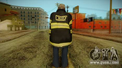 GTA 4 Emergency Ped 13 for GTA San Andreas second screenshot