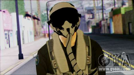 Russian Jet Pilot from Battlefield 4 for GTA San Andreas third screenshot