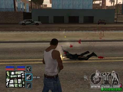 C-HUD by SampHack v.4 for GTA San Andreas second screenshot