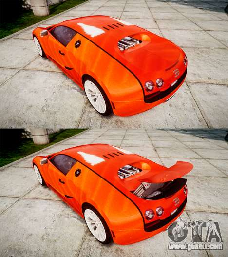 Bugatti Veyron 16.4 SS [EPM] Halloween Special for GTA 4 side view