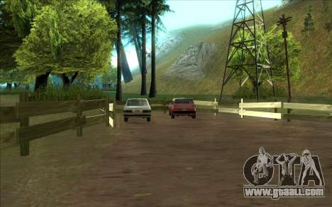 Road garage of Sigea for GTA San Andreas second screenshot