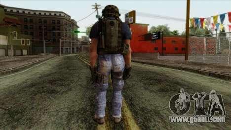 Modern Warfare 2 Skin 11 for GTA San Andreas second screenshot