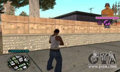 C-HUD 2Pac for GTA San Andreas third screenshot
