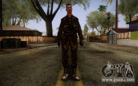Soldier Skin 1 for GTA San Andreas