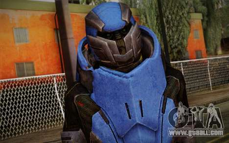 Garrus Helmet from Mass Effect 2 for GTA San Andreas third screenshot