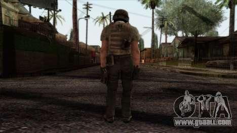 Modern Warfare 2 Skin 19 for GTA San Andreas second screenshot
