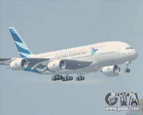 Airbus A380-800 Garuda Indonesia for GTA San Andreas