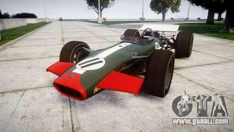 Lotus Type 49 1967 [RIV] PJ11-12 for GTA 4