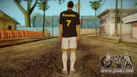 Footballer Skin 3 for GTA San Andreas second screenshot