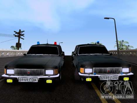 GAZ Volga 3102 for GTA San Andreas right view