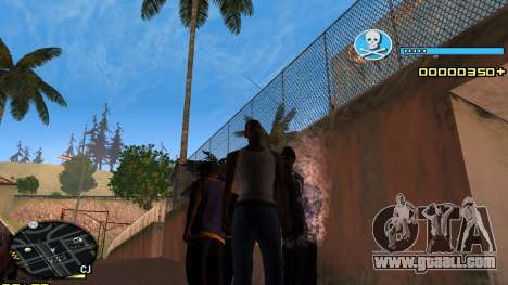 C-HUD Blue for GTA San Andreas