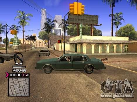 C-HUD by Kevka for GTA San Andreas second screenshot