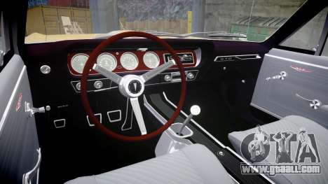 Pontiac GTO 1965 GeeTO Tiger for GTA 4 inner view