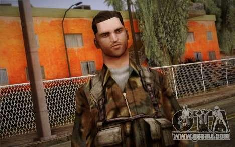 Soldier Skin 1 for GTA San Andreas third screenshot