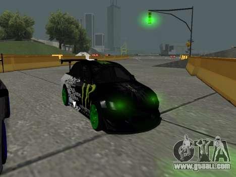 Mitsubishi Lancer Evo 9 Monster Energy for GTA San Andreas