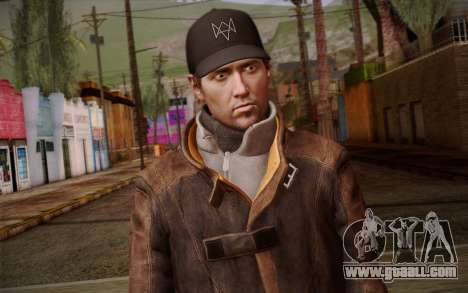 Aiden Pearce from Watch Dogs v10 for GTA San Andreas third screenshot
