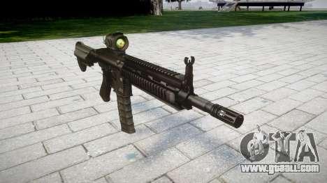 Machine HK416 AR for GTA 4