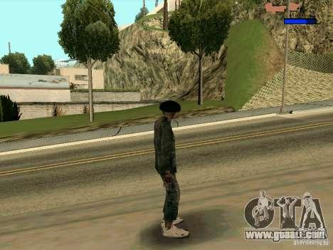 Cкин Benito из Stalker for GTA San Andreas third screenshot