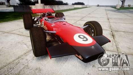 Lotus Type 49 1967 [RIV] PJ9-10 for GTA 4