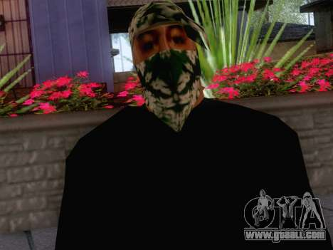 New Ballas Skin 1 for GTA San Andreas third screenshot