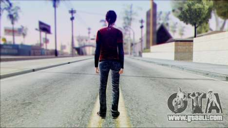 Ellie from The Last Of Us v1 for GTA San Andreas second screenshot