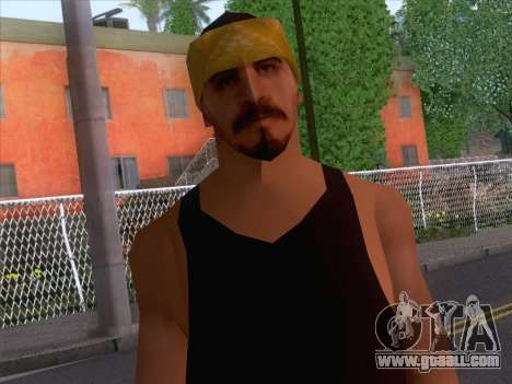 New Ballas Skin 2 for GTA San Andreas third screenshot