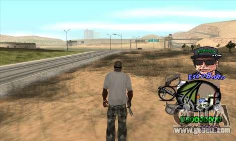 C-HUD by Travis Escobaro and Matthew Escobaro for GTA San Andreas