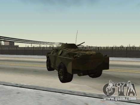 BRDM 2 for GTA San Andreas back view
