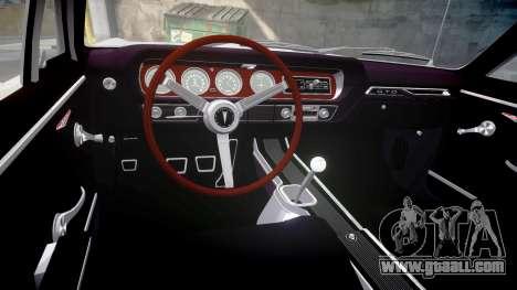 Pontiac GTO 1965 victory cars for GTA 4 inner view