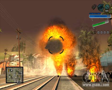 Excellent C-HUD for GTA San Andreas