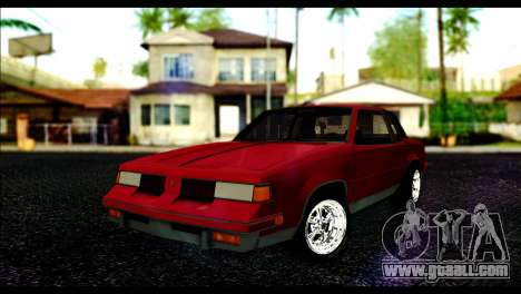 Oldsmobile Cutlass 1987 Beta for GTA San Andreas
