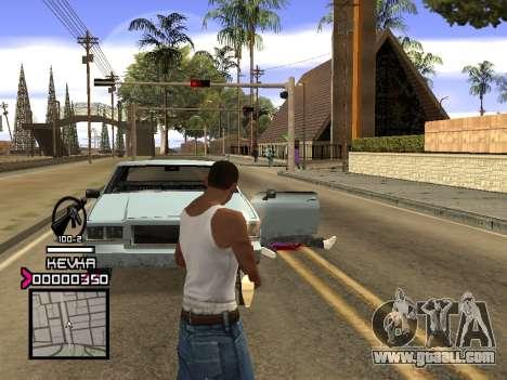 C-HUD by Kevka for GTA San Andreas forth screenshot