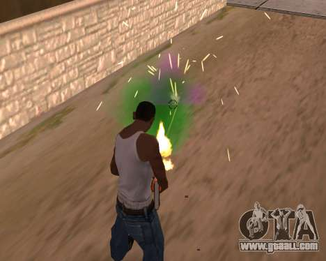 Freaky effects for GTA San Andreas second screenshot