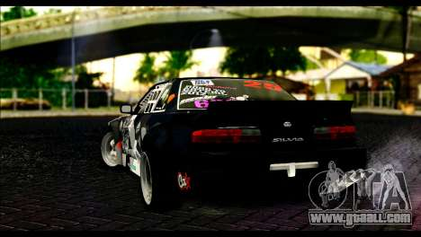 Nissan Silvia S13 Fail Crew v2 for GTA San Andreas left view