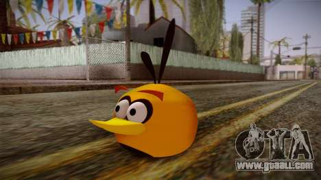 Orange Bird from Angry Birds for GTA San Andreas