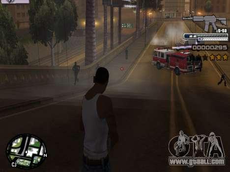 CLEO HUD Spiceman for GTA San Andreas fifth screenshot
