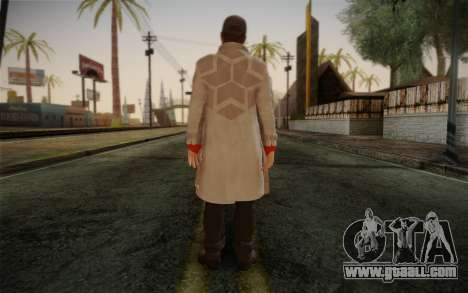 Aiden Pearce from Watch Dogs v1 for GTA San Andreas second screenshot