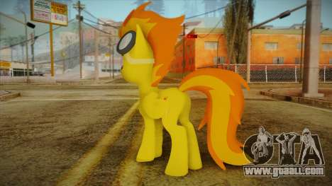 Spitfire from My Little Pony for GTA San Andreas second screenshot