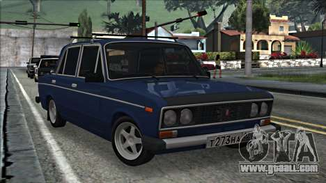 ВАЗ 2106 Russian style 2.0 for GTA San Andreas