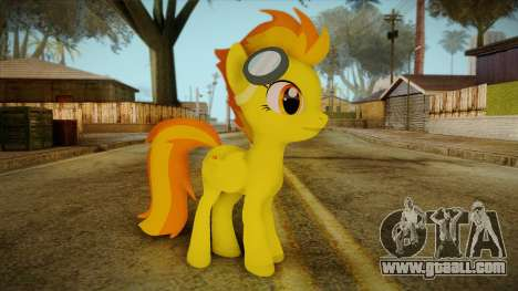 Spitfire from My Little Pony for GTA San Andreas