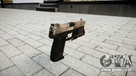 Gun HK USP 45 erdl for GTA 4 second screenshot