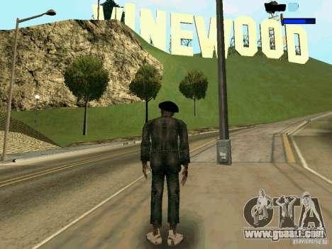 Cкин Benito из Stalker for GTA San Andreas second screenshot