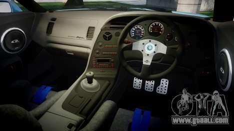 Toyota Supra 1998 for GTA 4 inner view