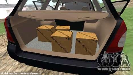 Daewoo Nubira I Wagon CDX US 1999 for GTA San Andreas inner view