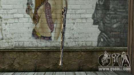 New Baseball bat for GTA San Andreas